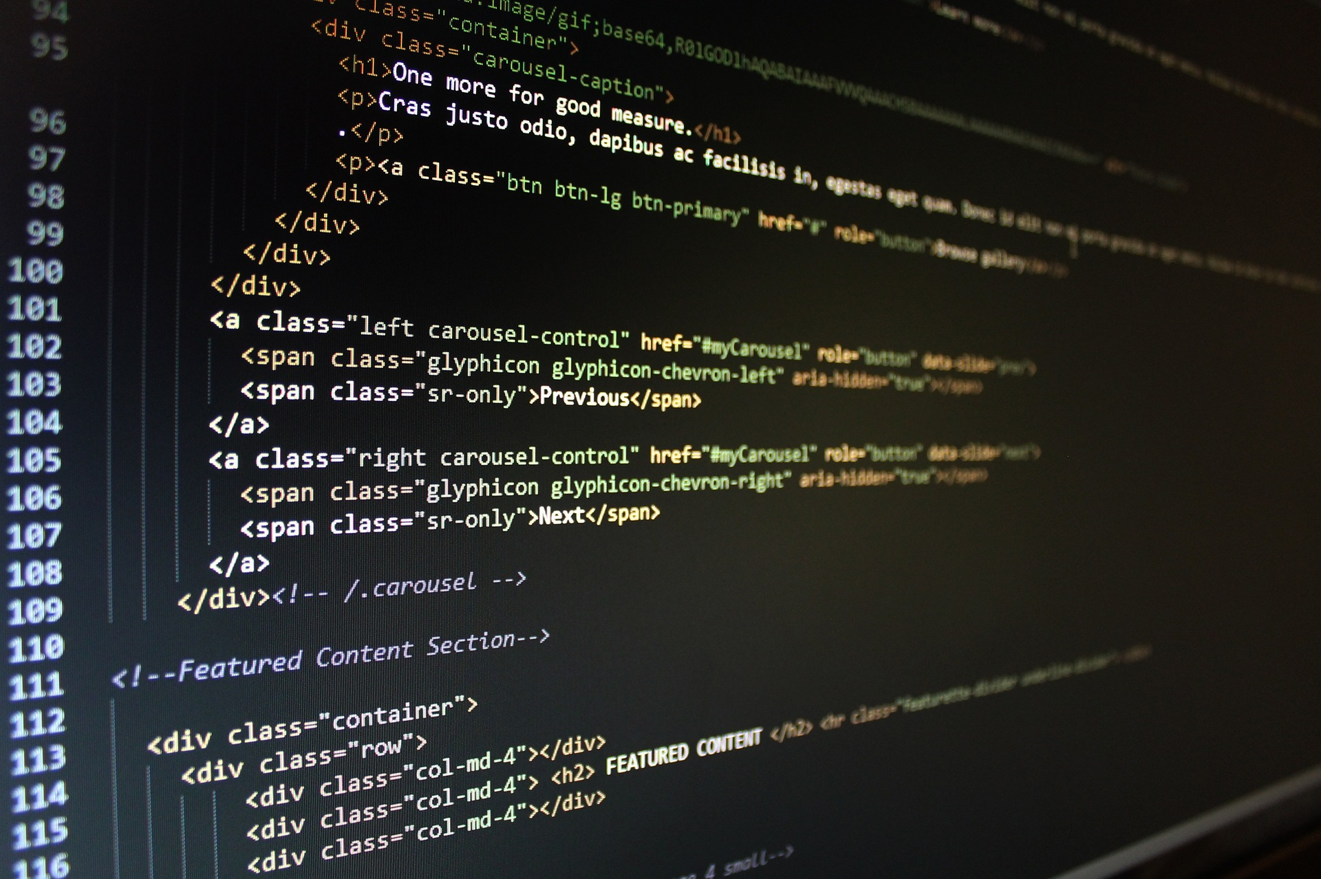 Código diseño web